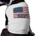Camisa del perro de la marina de guerra camisetas de perro