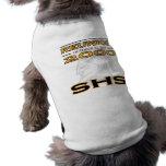 Camisa del perro de la reunión de SHS Ropa Macota