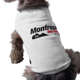 Camisa del perro de la tienda de la bici de Montro Ropa De Perros