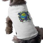 Camisa del perro de la tierra de la mariquita camisas de mascota