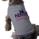 Camisa del perro de NEBTR Playera Sin Mangas Para Perro