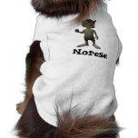 Camisa del perro de Norese Camisetas De Perrito