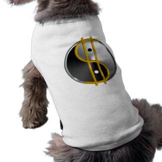 Camisa del perro de Objectivist Yin/de Yang Camisa De Perro