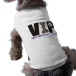 Camisa del perro de PawsID VIP Camiseta De Perrito