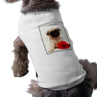 Camisa del perro de perrito del barro amasado ropa macota