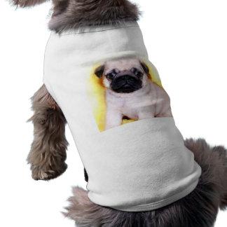 Camisa del perro de perrito del barro amasado camisetas mascota