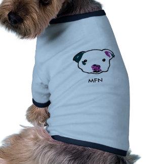 Camisa del perro de Sr. Fig Newton Camisas De Perritos