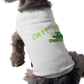 Camisa del perro de Tailgator Playera Sin Mangas Para Perro