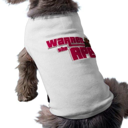 Camisa del perro de WTA Ropa De Perros