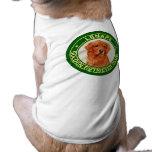 Camisa del perro del club del golden retriever de  ropa de mascota