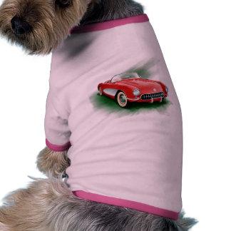 Camisa del perro del Corvette Camisas De Perritos