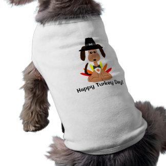 Camisa del perro del día de Turquía Camisa De Perro