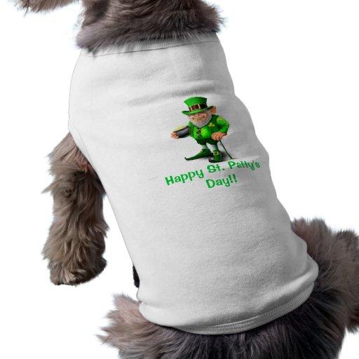 Camisa del perro del día del St Patty feliz Ropa Para Mascota
