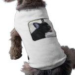 Camisa del perro del dogo francés camisas de perritos