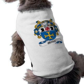 Camisa del perro del escudo de la familia de Mille Ropa De Perros
