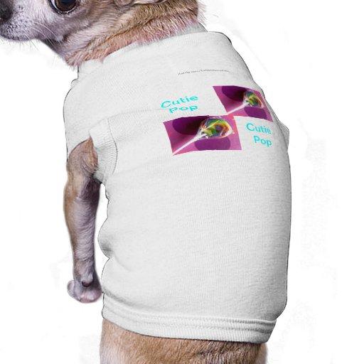 Camisa del perro del estallido de Cutie Playera Sin Mangas Para Perro