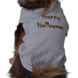 Camisa del perro del feliz Halloween Ropa Para Mascota
