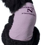 Camisa del perro del fútbol de Norton Camisa De Mascota