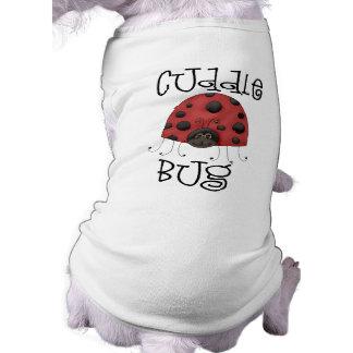 Camisa del perro del insecto de la abrazo camiseta de mascota