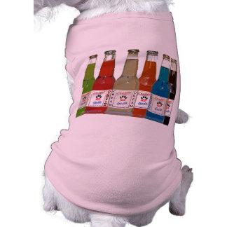 Camisa del perro del rescate de la soda del puma camisa de mascota
