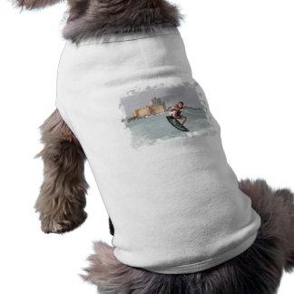 Camisa del perro del salto de Wakeboard Ropa Para Mascota