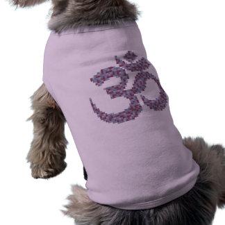 Camisa del perro del símbolo de OM Playera Sin Mangas Para Perro