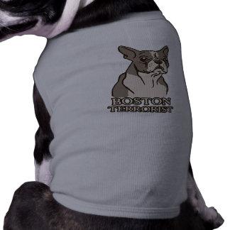 Camisa del perro del terrorista de Boston Camiseta De Perro