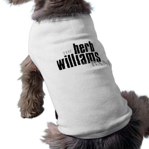 Camisa del perro - negro/gris playera sin mangas para perro