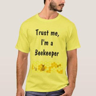 Camisa del personalizado del arte del panal del