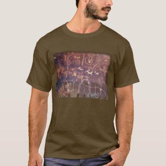 Camisa del petroglifo de Nevada