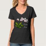 Camisa del Phalaenopsis del amante de la orquídea