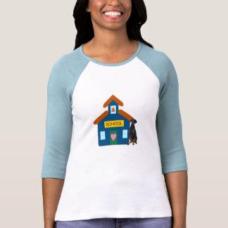 Camisa del Pinscher del Doberman de la casa de la