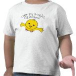 Camisa del pollo del niño