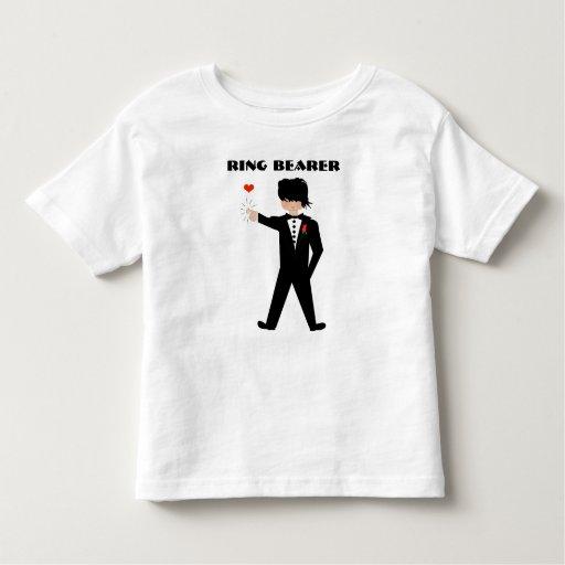 Camisa del portador de anillo - boda -