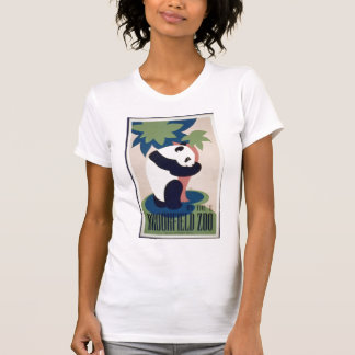 Camisa del poster del oso de panda