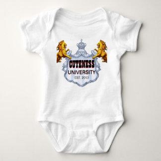 Camisa del príncipe bebé de la universidad del