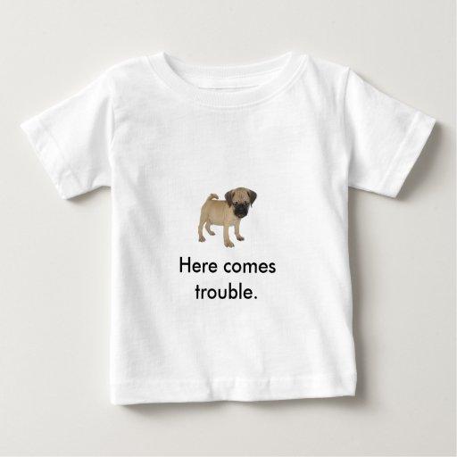 Camisa del problema de los niños