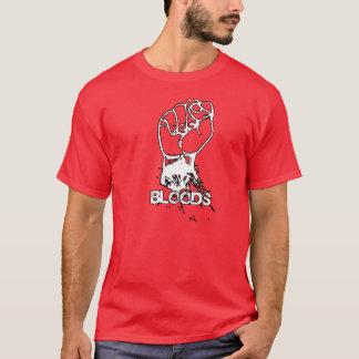 camisa del puño de las sangres