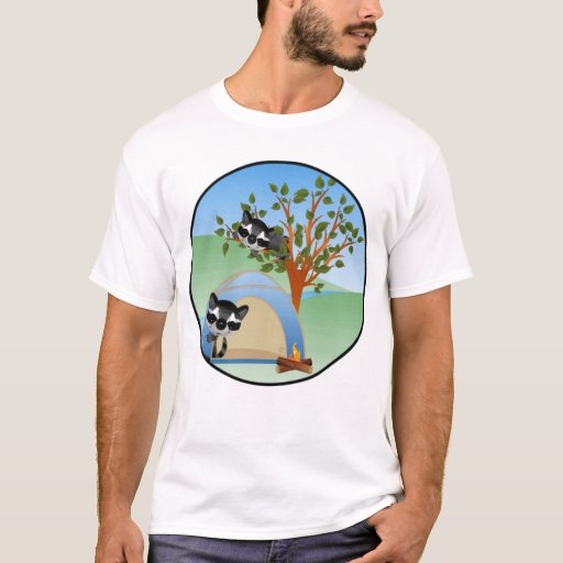 Camisa del Racoon