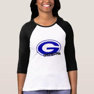 Camisa del raglán de las mujeres de la orquesta de