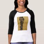 Camisa del raglán de las señoras de la puesta del