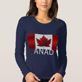 Camisa del recuerdo de Canadá de la camisa de la