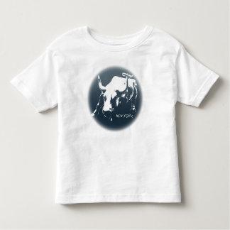 Camisa del recuerdo de la camisa NYC Bull de Nueva