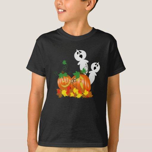 Camisa del remiendo de la calabaza de Halloween