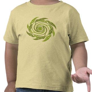 Camisa del remolino de la mala hierba del mar