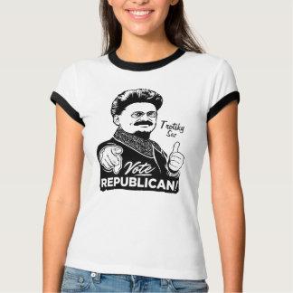 Camisa del republicano del voto de Trotsky