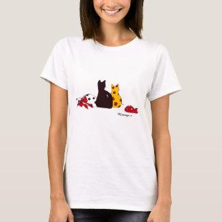 Camisa del retrato de la familia de Puffie y de