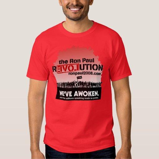 Camisa del revolucionario de Ron Paul 2008