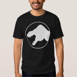 Camisa del rey del tirano, logotipo blanco