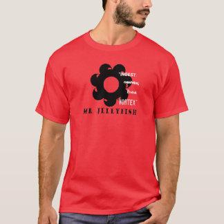 Camisa del rojo del vórtice